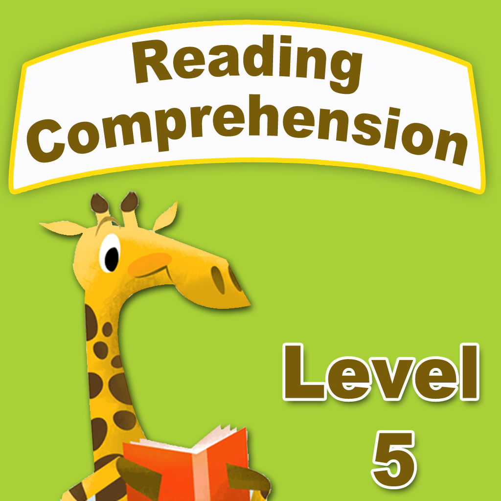 Worksheet Level 5 Reading Comprehension kids reading comprehension level 1 iphone education apps by 5